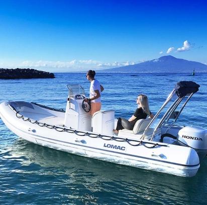 Louer un bateau pneumatique