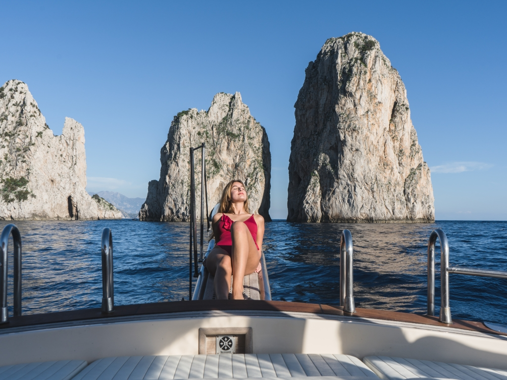 Tour alrededor de la isla de Capri