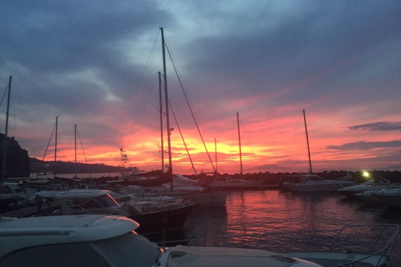 Einzigartiges Sonnenuntergang Erlebnis