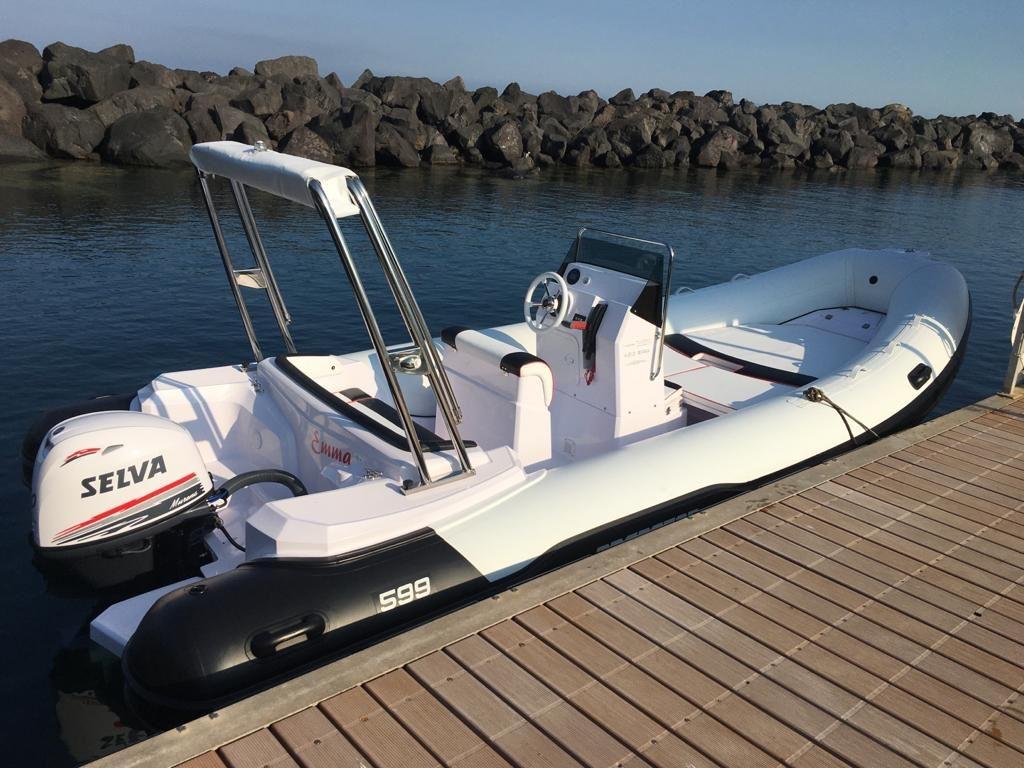 Self drive boats Predator 599