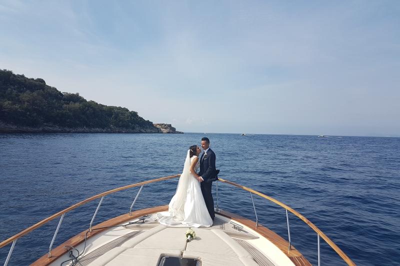 Sesión de fotos para los recién casados